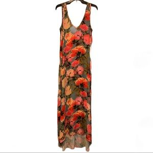 Show Me Your Mumu Floral High Low Maxi Dress NEW
